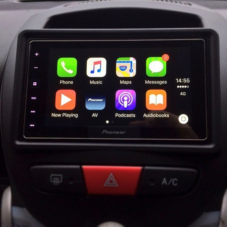 Peugeot 107 CarPlay Install