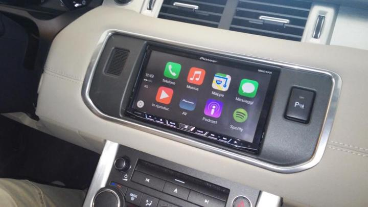 Range Rover CarPlay
