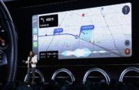 Apple CarPlay's new translucent side dock in iOS 13