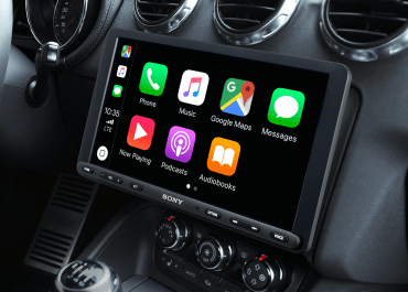 Sony announces new 'hovering' 8.95-inch Apple CarPlay display