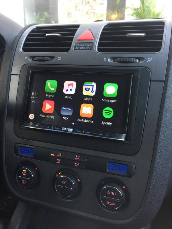 VW Jetta CarPlay Install