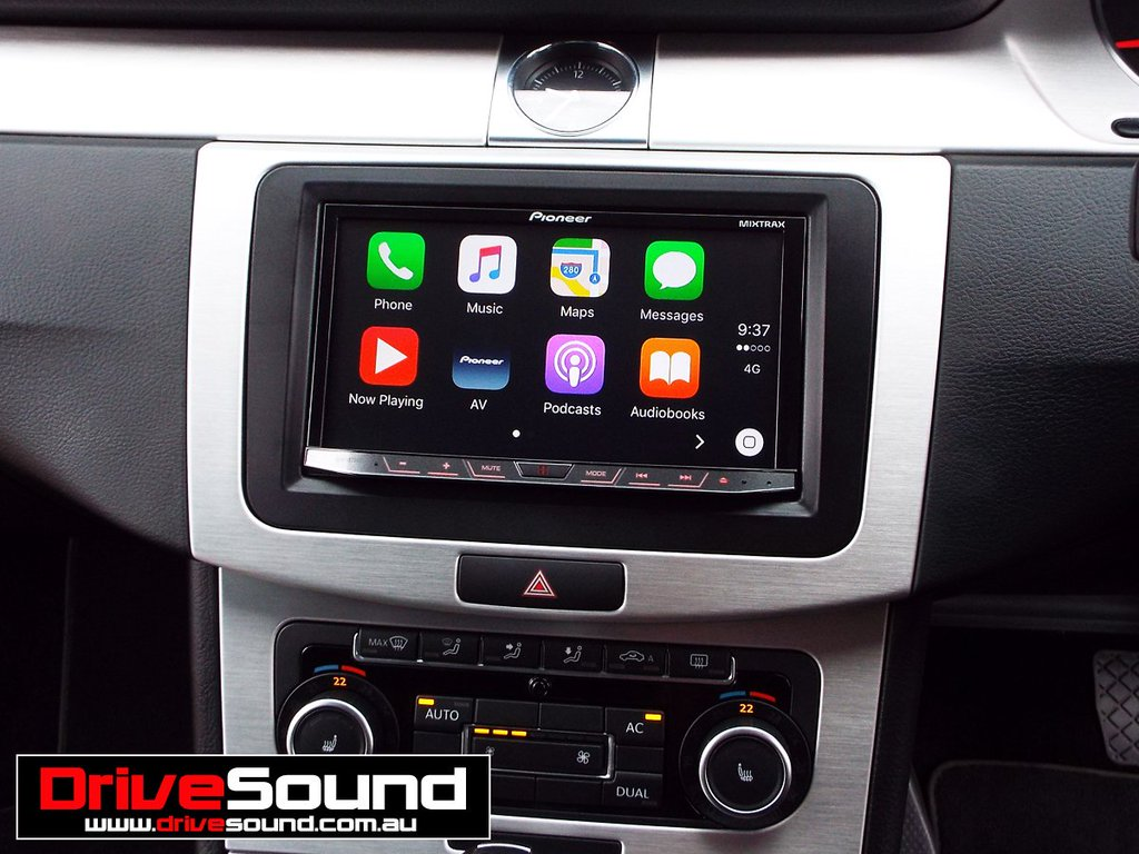 carplay installs pioneer avh 4100nex in a volkswagen. Black Bedroom Furniture Sets. Home Design Ideas