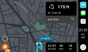 Waze CarPlay Navigation