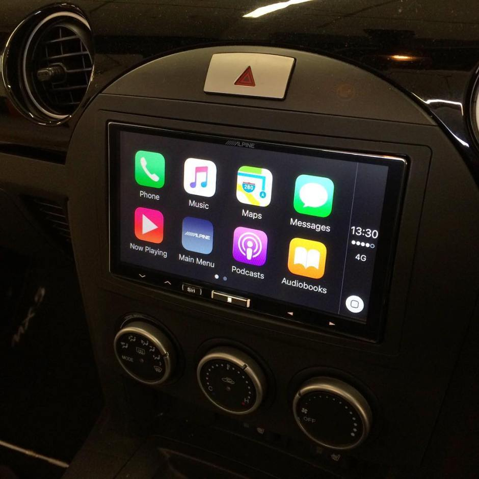 mazda mx5 carplay install