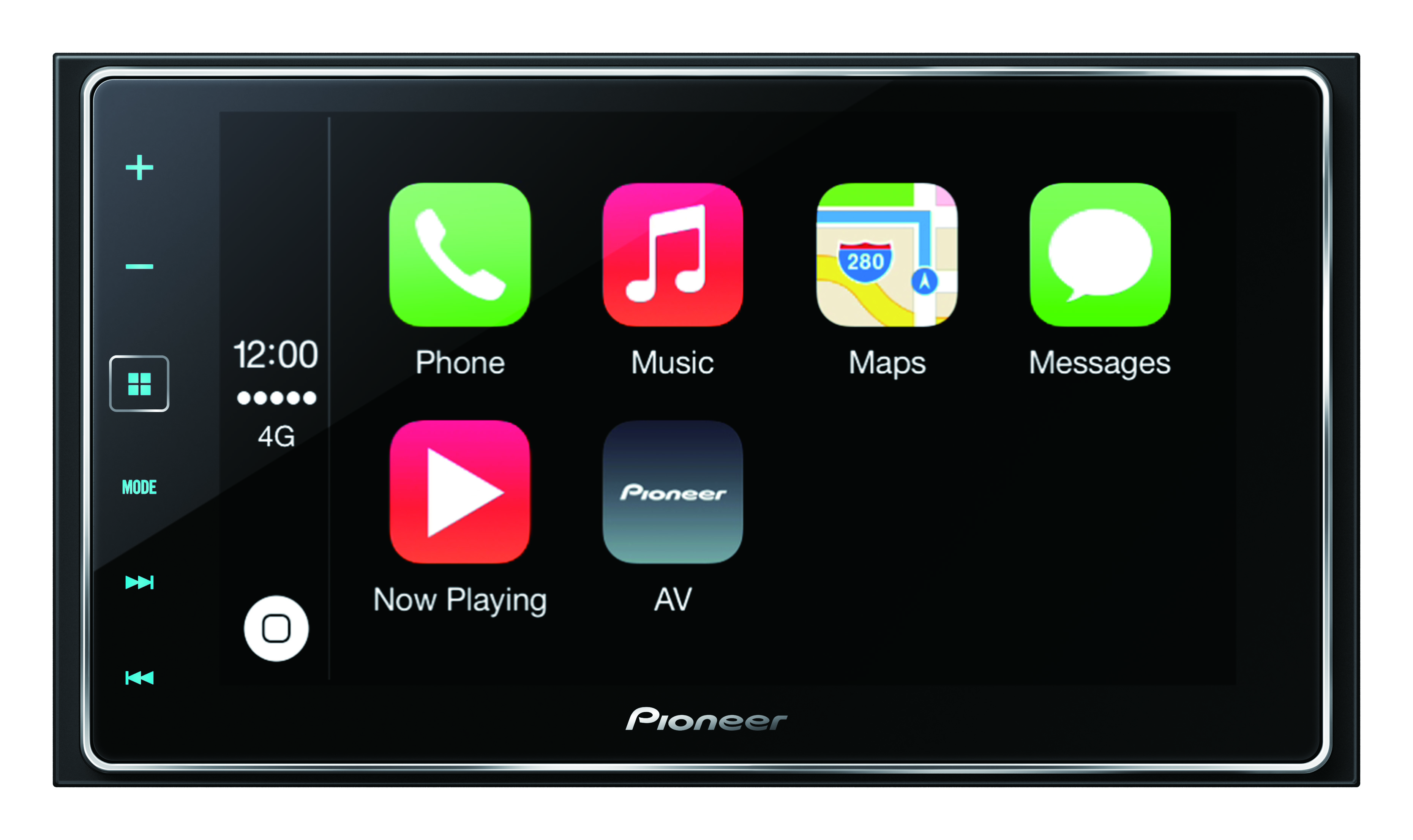 Screen also pioneer sph da120 further pioneer appradio wiring pioneer appradio 4 sph da120 carplay receiver review carplay rh carplaylife com cheapraybanclubmaster Choice Image