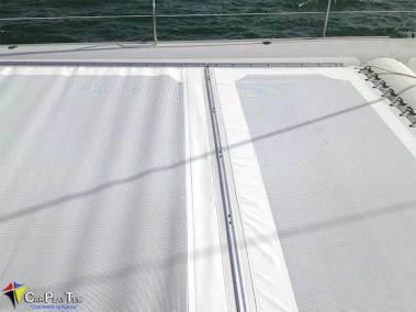 Fabricacion de Trampolines para catamaran 3