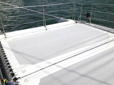Fabricacion de Trampolines para catamaran 4