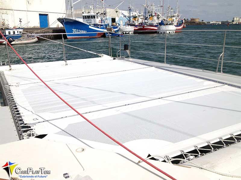 Fabricación de trampolines para Catamarán.