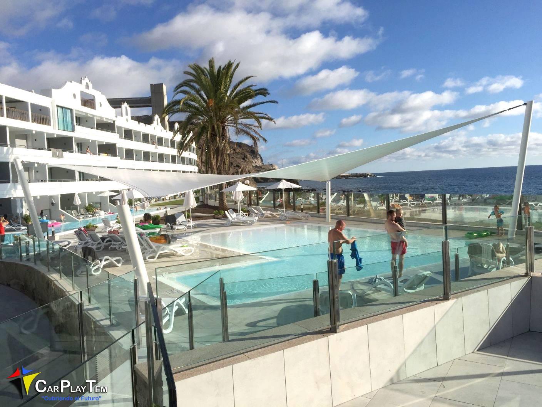 Vela-Tensado Hotel Ocean Beach Club.Las Palmas
