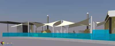 Proyecto Velas Terraza Chillout para la Farola del Mar (Tenerife)