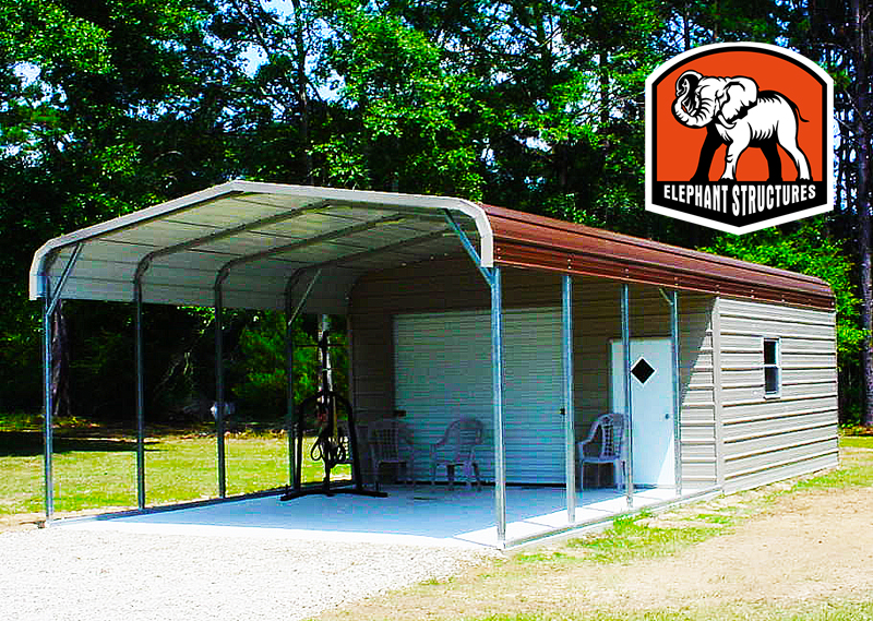 Metal Sheds And Utility Carports For Spring