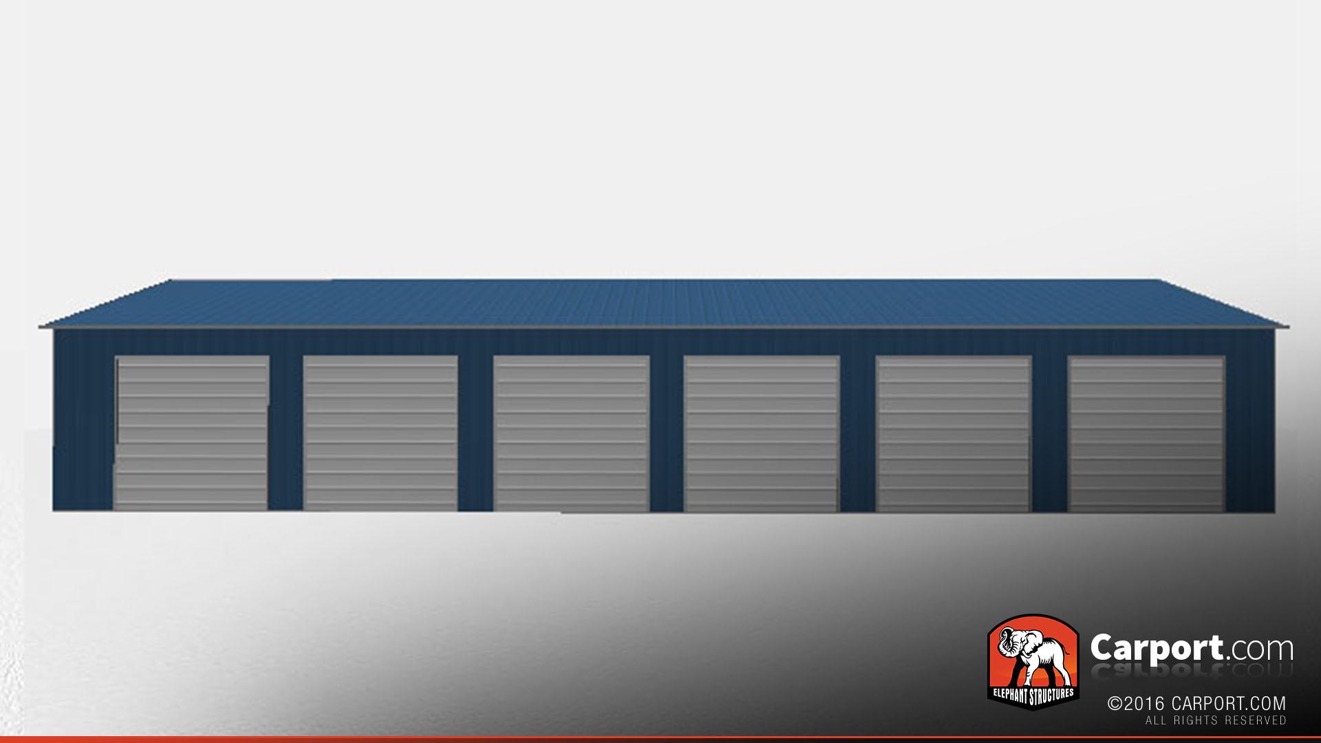 Commercial Metal Garage 30 X 80 X 12 Shop Metal