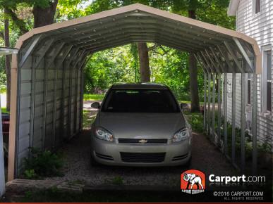 Custom Triple Wide Metal Carport 26 X 24 X 7 Shop