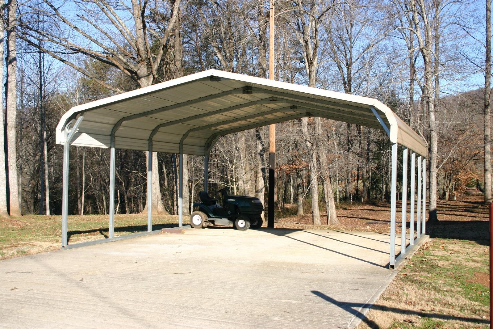 Standard Two Car Double Carport | Carport.com