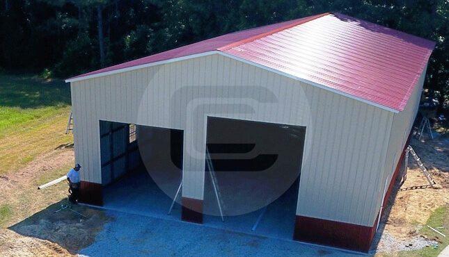 Metal RV Garage Certified Garage For RV RV Cover