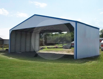 40x30 Commercial Shed Buy Clear Span Metal Building