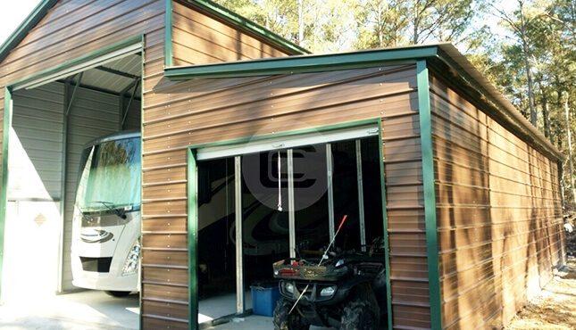 18x41 RV Garage With Lean To RV Garage Price Online