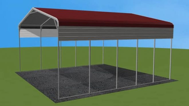 20 X 31 A Frame Roof Metal RV CoverLowest Buy Online Price 2100