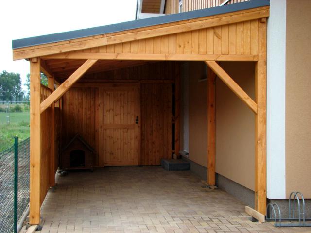 pulldach carport projekte3 001 carports aus polen. Black Bedroom Furniture Sets. Home Design Ideas