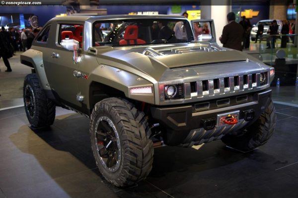 Hummer HX Concept Price Specs Release Date