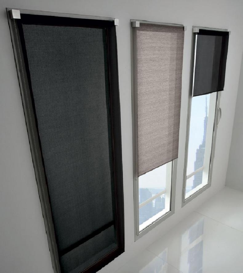 Collezione di tessuti per tende a rullo da interni in esclusiva per tao. Tende A Rullo Mini Tao Carraro Casa
