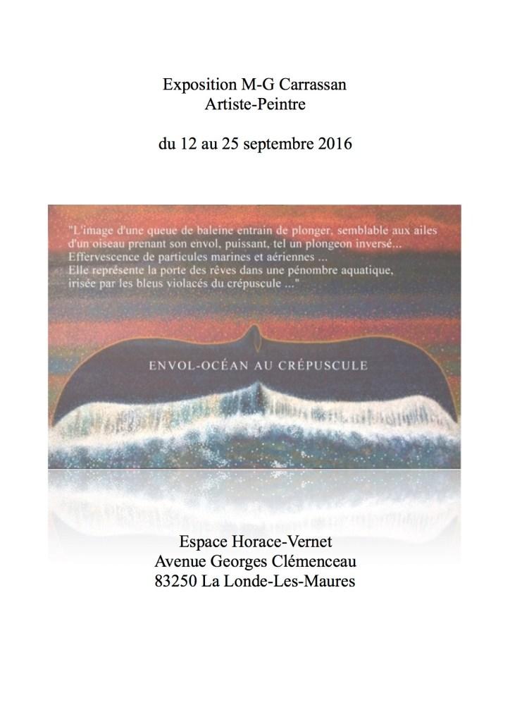 Envol-Océan Carton Invitation Exposition - pour WP