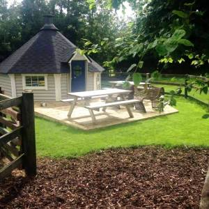 15m Barbecue Grill Cabin from Carr Bank Garden Centre