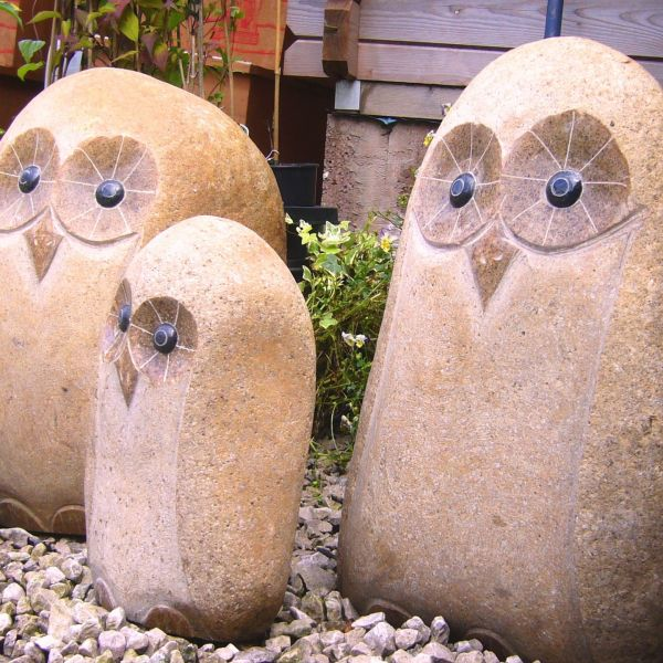 Stone Owl Garden Ornaments Stoneware carr bank garden centre pet supplies we always have some interesting items in like gargoyles statues and more contemporary ornaments hand carved stone owl ornaments workwithnaturefo