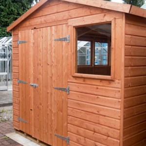 Heavy Duty Hobby Shed from Carr Bank Garden Centre