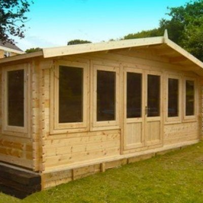 Mason 5.4m Garden Log Cabin