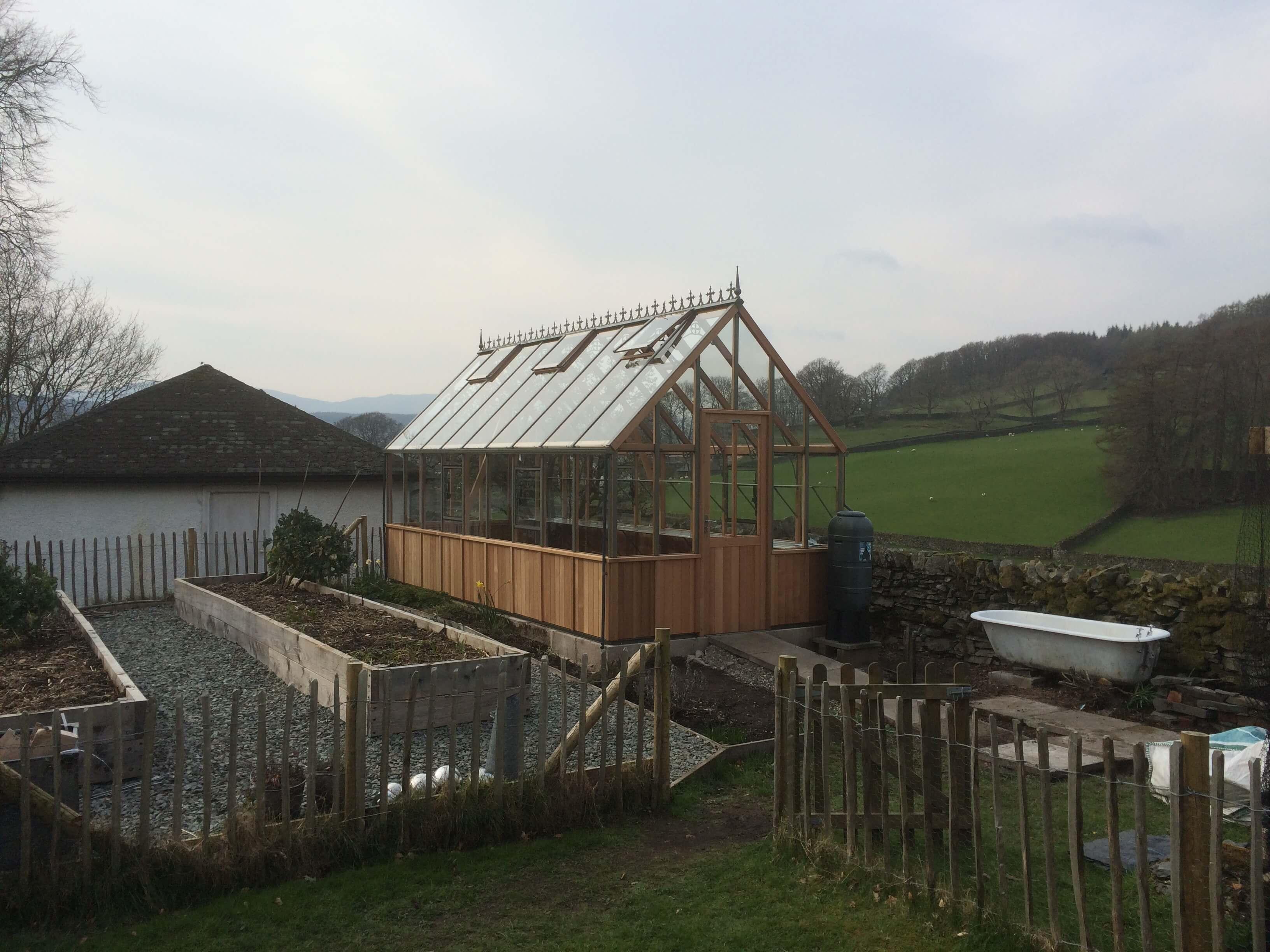 Alton Cheltenham Victorian Greenhouse Installation