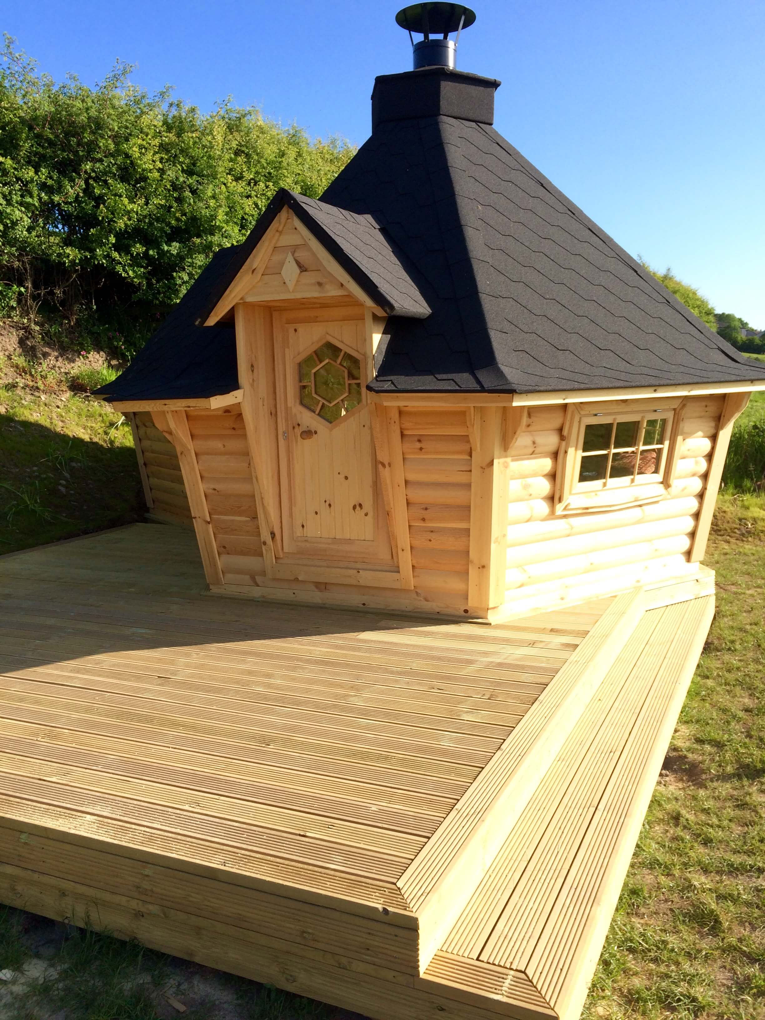 10m Cabin with 2m extension