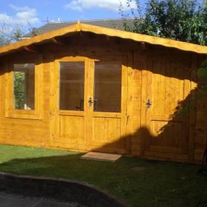 Crossley Kentmere Log Cabin 4.8m Wide