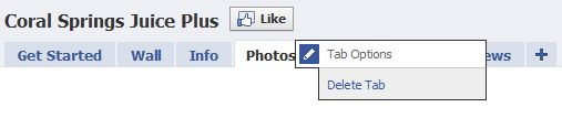 How to Delete a Facebook Tab