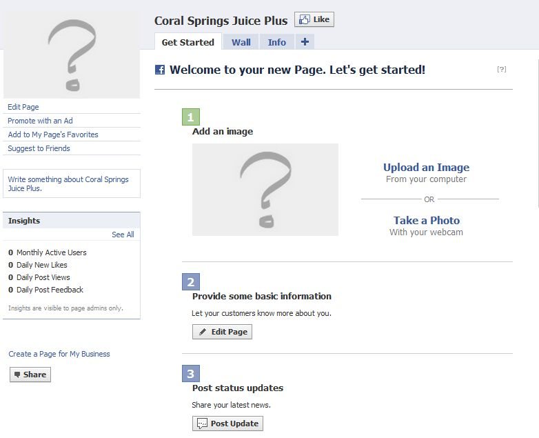 How to create a facebook page the simple steps are the most a new facebook page stopboris Choice Image