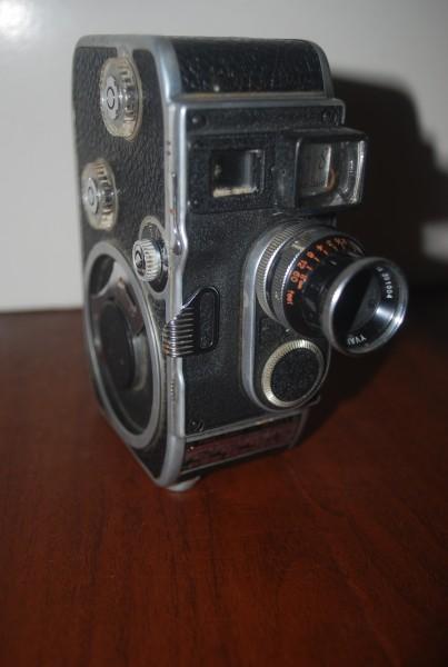 Bolex 8mm movie camera