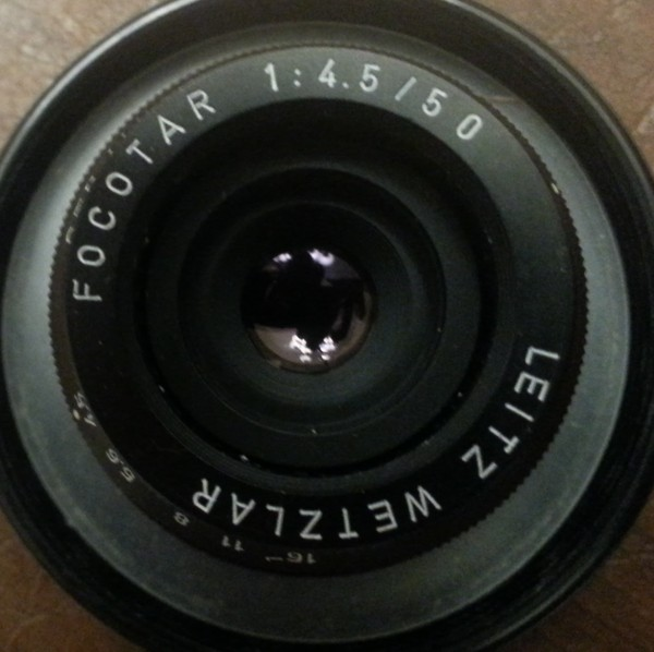 Leitz 50mm? 1:4.5 Focotar (don't see serial #)