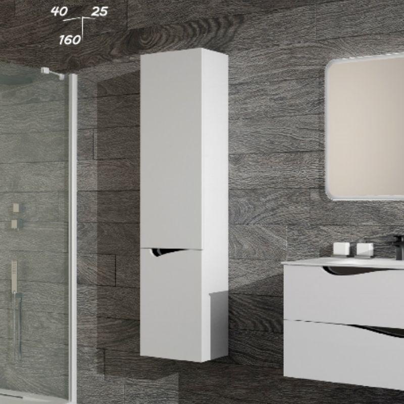 colonne murale deux portes meuble de salle de bain salle de bain