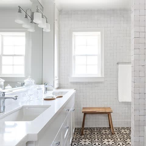 zellige salle de bain carreaux de style