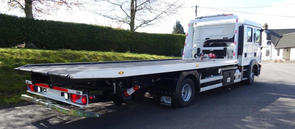 Car towing van emirates and recovery vehicle