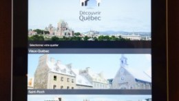 Application Découvrir Québec
