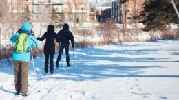 Rivière St-Charles: La piste de ski de fond ouverte