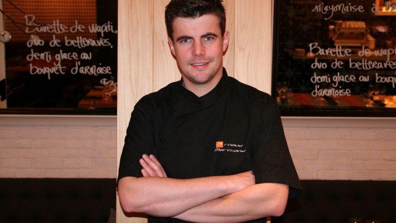 Arnaud Marchand : Un chef en or