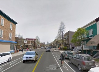 Une piste cyclable sur la 3e Avenue