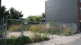 Terrain vacant rue Bagot