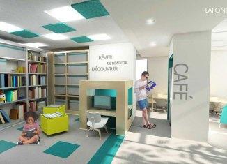 Bibliothèque dans Saint-Sauveur: St-Sauveur tout simplement