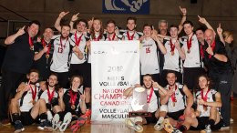 Titans volleyball champions canadiens