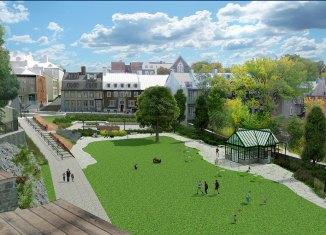 Les Jardins du Corps-de-Garde : Nouvel espace vert dans le Vieux-Québec