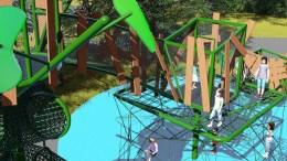 Nouvelle structure de jeux à Expo Cité
