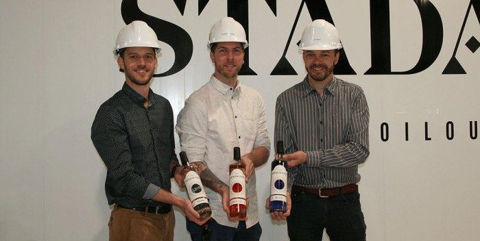 Des gins distillés dans Limoilou